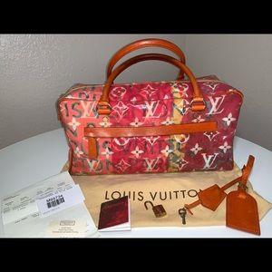Authentic Louis Vuitton Defile Pulp Weekender PM